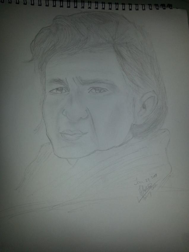 Johnny Cash by Mitch